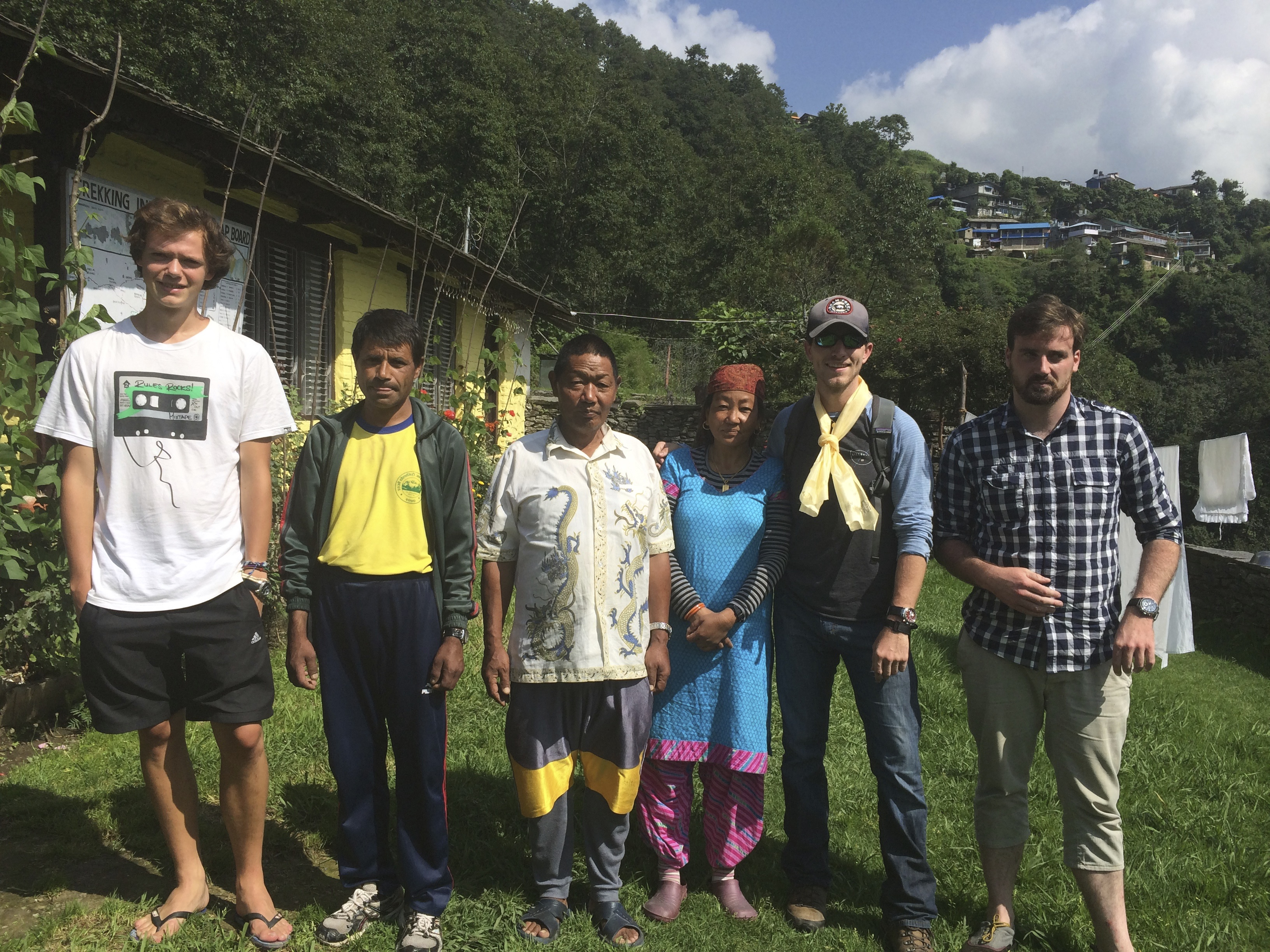 BambooDesigns Nepal Photo Josh With Team